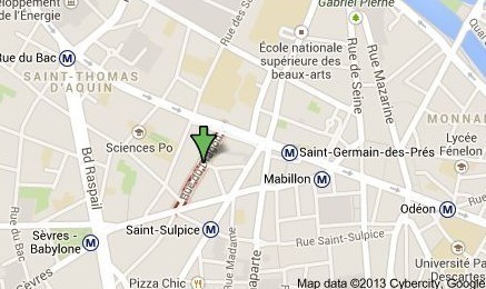 APPARTEMENT  comprenant 3 pieces 3 pieces secteur SAINT-GERMAIN-DES-PRES - Rue du Dragon