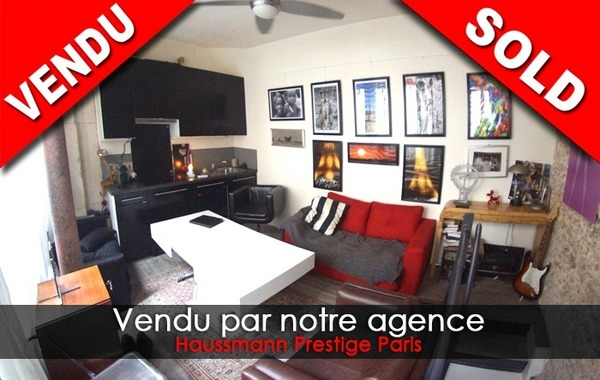 Vente APPARTEMENT 30m2 comprenant 2 pieces  75005 PARIS 5eme