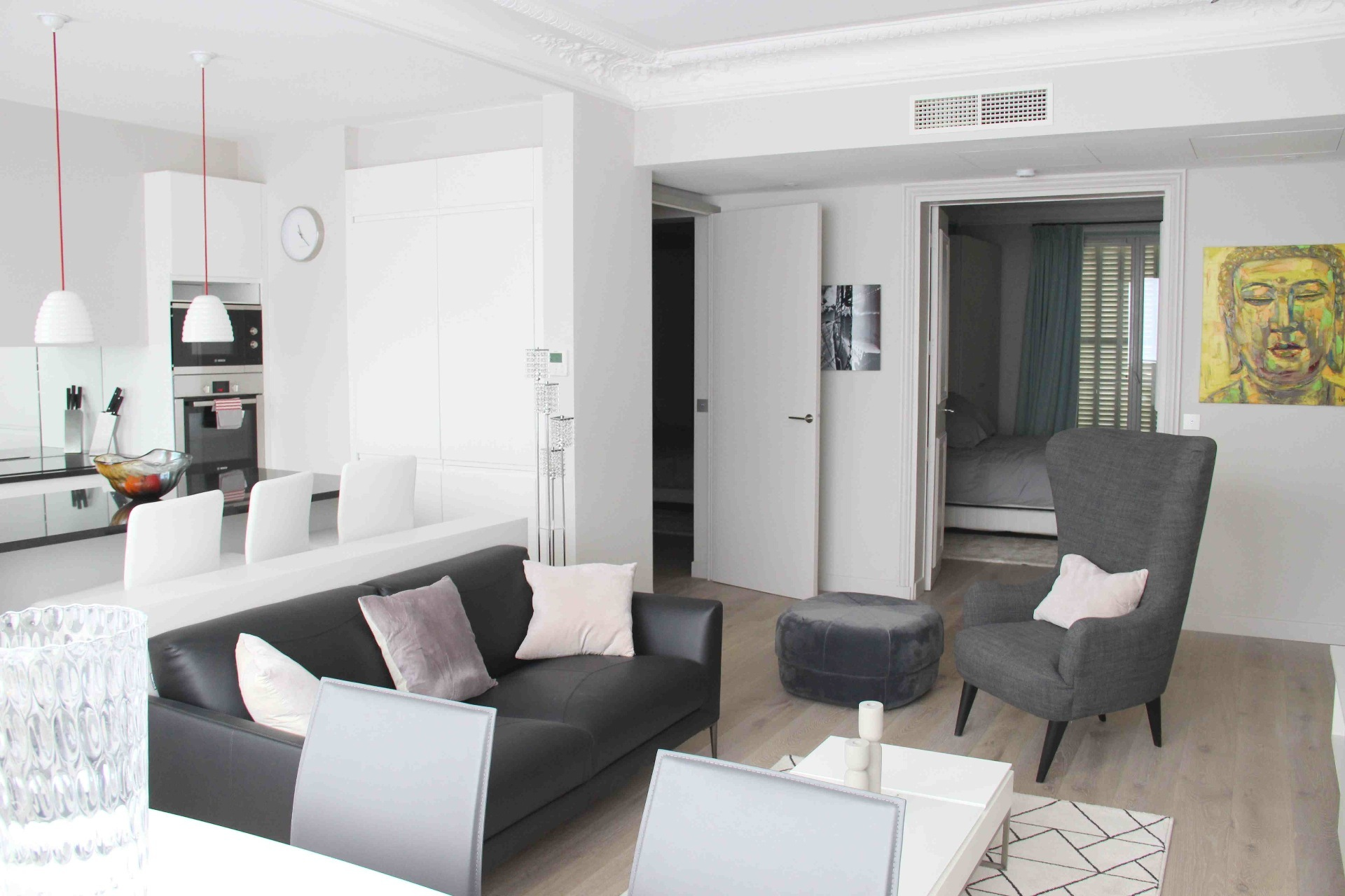 LUXEMBOURG GARDEN 3-ROOM furnished apartment for rent