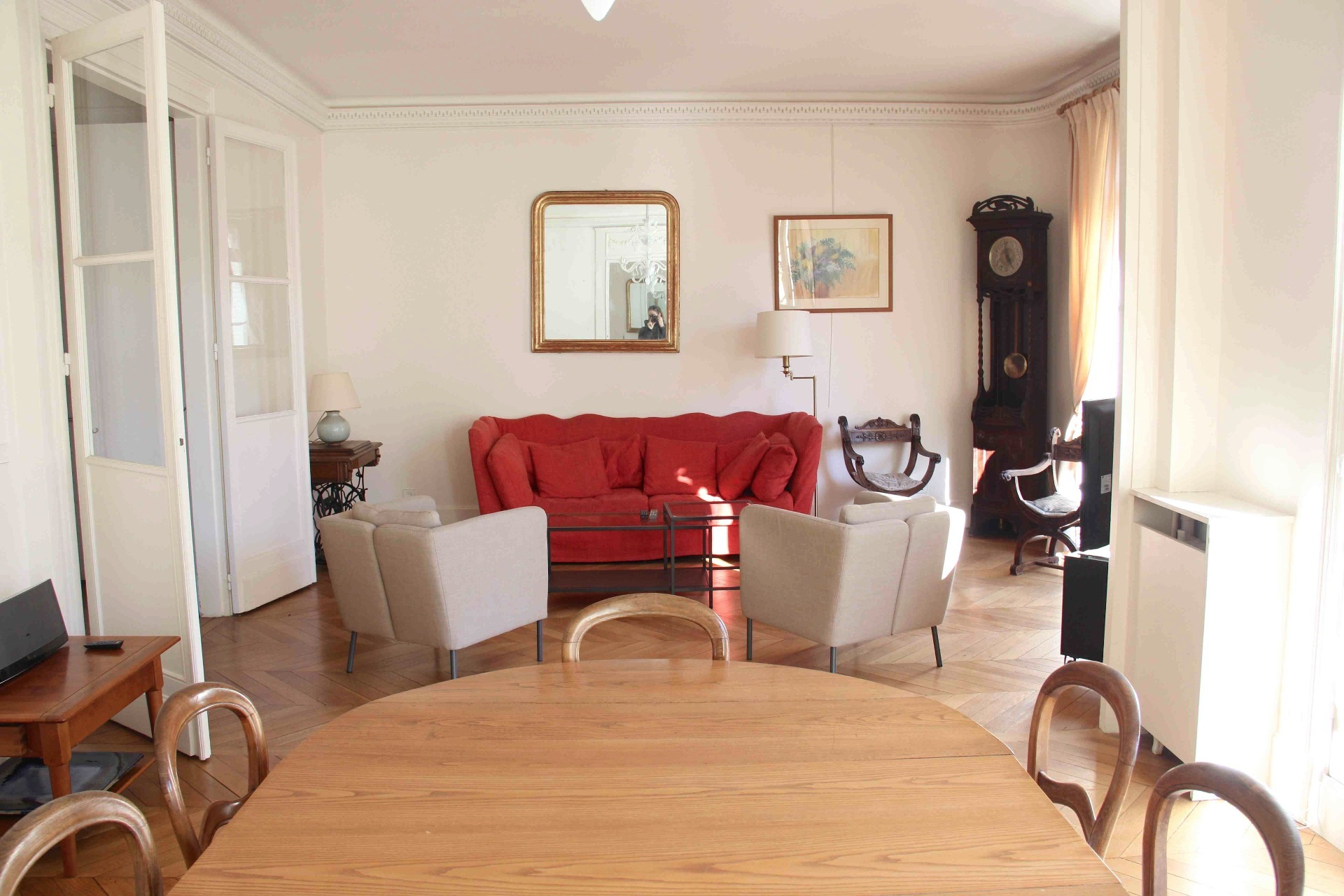 4 Bed Apartment For Rent Furnished In Paris 17th
